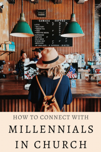 connect with millennials in church